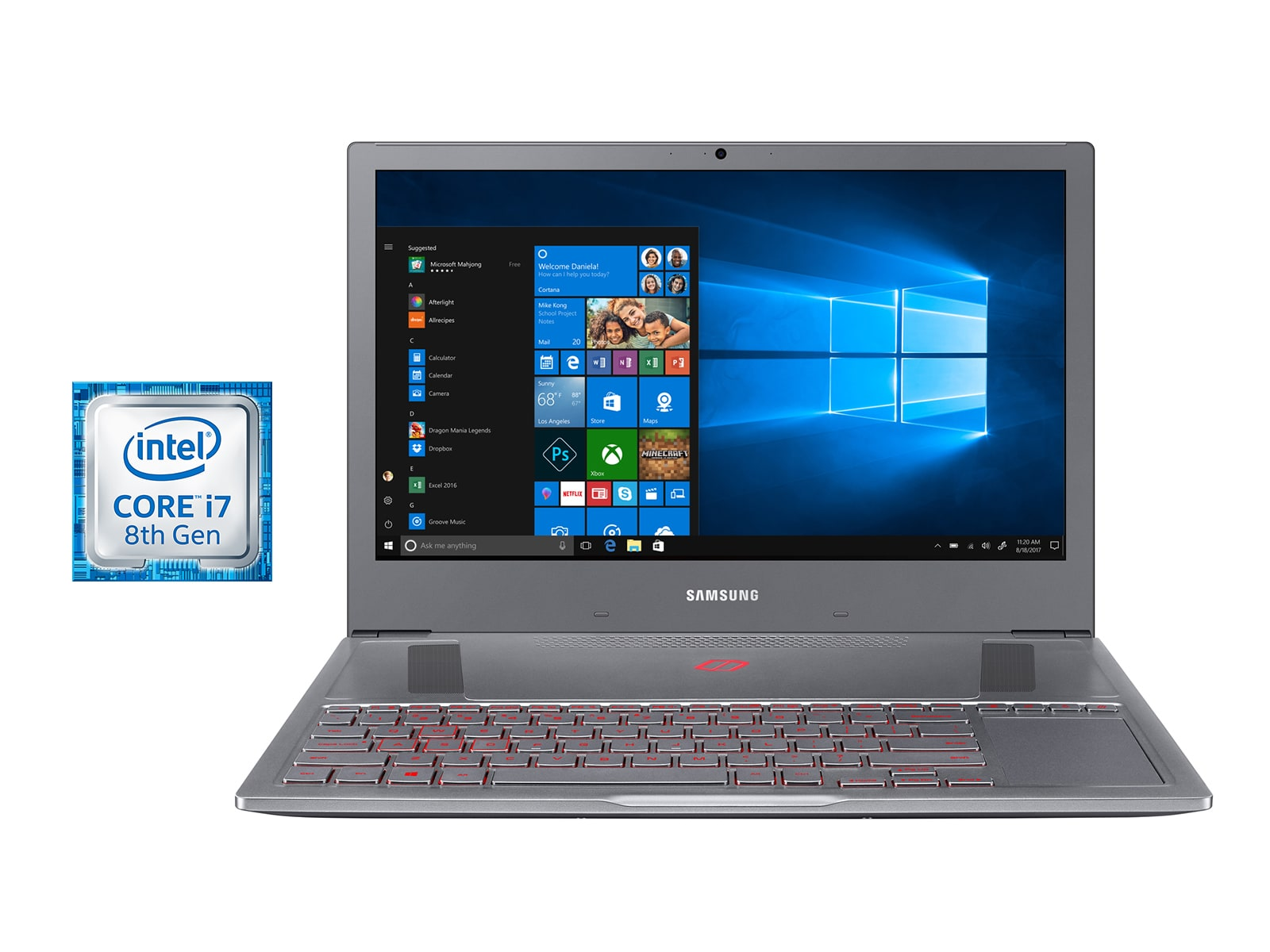 Samsung Notebook Odyssey Notebook NP850XAC-X01US